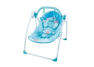 China Musical Remote Control Baby Swing Chair 3 Speed 30  ABS Plastic Material on sale