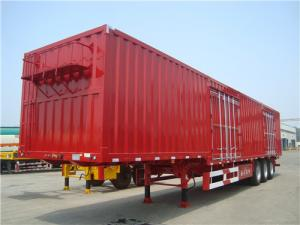 China 60T Loading Capacity Heavy Duty Semi Trailers For Bulk Cargo Tansport on sale