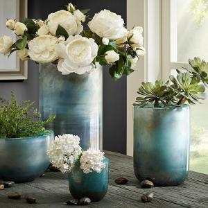 China Fashion beautiful glass bowl vases wholesale on sale