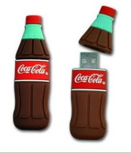 China Bottle Shaped Custom Usb Flash Drive Special With High Speed on sale