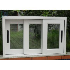 China Australian Standard Sound-Proof & Fire Rated Interior Aluminium Sliding Bathroom Windows on sale