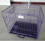 Black Cheap Poultry farming equipment metal large steel iron dog cage(Whatsapp +86 13331359638)