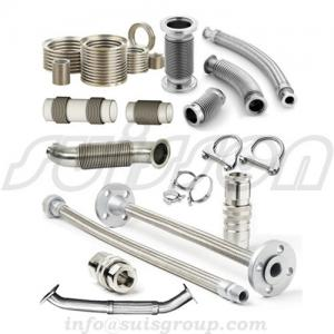 China Generator exhaust system, exhaust pipe, flex bellow, metal hose, expansion joints on sale