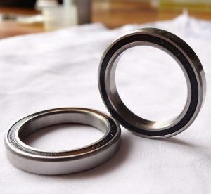 Quality 9Cr18Mo Thin Section Bearing Angular Contact With High Load Carrying Capacity for sale