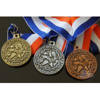 Round Custom Design UIL Metal Award Medals Blank Medallion With 3D Effect
