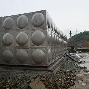 China 1.2mm - 3mm Hot Water Tank Insulated System , Welded 500 Gallon Stainless Steel Water Tank on sale