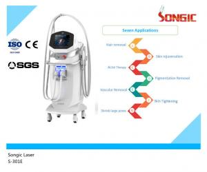 China Vertical Two Colors IPL SHR Machine Easy Operation Super Intense Pulse Light on sale