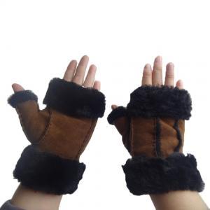 China Wholesale cheap winter gloves mitten half finger gloves on sale