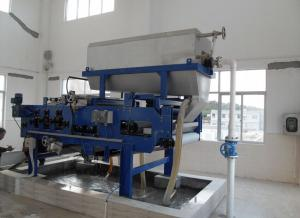 China Industrial Textile wastewater sludge removal equipment Belt filter press Economical and reliable on sale