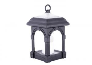 China Archaize Outdoor Solar Candle Hanging Lamp With 2 * AA NI - MH 1200 mAh Battery on sale