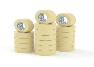 China Custom Packing Low Noise Coloured Masking Tape  on sale