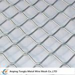China Aluminum Diamond Grille for Security Window/Doors Mesh   67 mmx84 mm wholesale