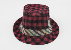 China Customized Colorful Ladies / Women Bucket Hat For Fishing , Square Printed on sale