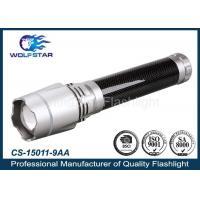 Zoom High Power Flashlight 9AA Battery Aluminum Alloy For Household Etc