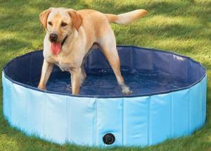 China Cool Pup Splash About Dog Pool , Dog Paddling/Splash Pool on sale