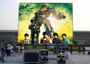 China High Contrast Outdoor Led Video Wall Football Field Front Maintain SMD2121 P3.91 RGB on sale