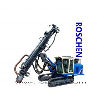 Blast Hole Drill Rig Exposed Hydraulic Blasting Holes Drilling Machine For Top Hammer Drilling RS-B-55