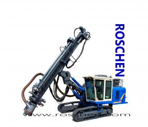 China Blast Hole Drill Rig Exposed Hydraulic Blasting Holes Drilling Machine For Top Hammer Drilling RS-B-55 on sale