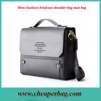 Classic Complex Gu Weideng Paul burst Mens business briefcase shoulder bag man bag