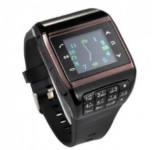 "China Q5 Watch Phone Quad band Cell Phone Mobile AT&T Mobile: Unlocked 1.33"" Touch Screen Camera FM Mp3 on sale"