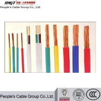 BV pvc cable 4mm2 electrical house wiring single solid cable copper conductor PVC insulated