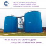 Waste Anaerobic Biogas Storage Tank Prevent Rust For CHP Comprehensive