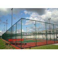 China Professional Galvanized Chain Link Fence Package Kits 4ft - 12ft 5mm Wire Dia on sale