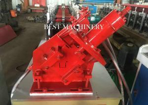 China 380V Stud And Track Roll Forming Machine , Gypsum Board Light Steel Keel U Track Making  Machine on sale
