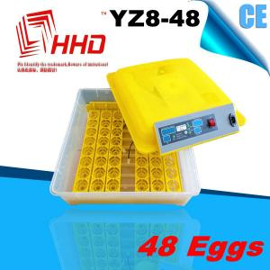 China strong and durable CE approved automatic 48 egg incubator for sale on sale