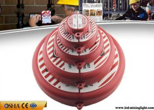 China 6.5 Inch - 10 Inch Diameter Valve Lock Out With Padlocks ABS Material on sale