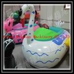 China bateaux de butoir de cygne animal de tube à vendre, bateau de butoir électrique de la nouvelle de conception eau d'amusement wholesale