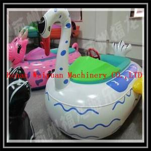 Quality animal tube swan bumper boats for sale, new design amusement water electric for sale