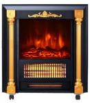 Movable Fireplace SF-1424 real log burning flame room heater infrared Quartz tube