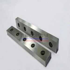 China Customized Forged Blade Of Cutting Machine And Press Brake Tooling/Cutting Blade For Guillotine Shearing Machine on sale