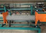 Anti Corrosive Chain Link Fence Machine / Semi Automatic Chain Link Machine