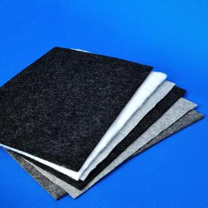 China Reusable Carpet Underlay Felt Fabric Polyester Carpet Base Cloth on sale