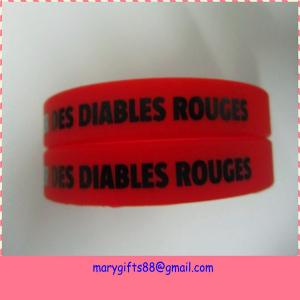 China personalized simple custom made silicone arm band on sale