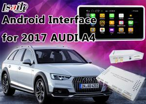 China 2017 AUDI A4 Andorid Navigation Multimedia Video Interface with Built-in Mirrorlink , WIFI , Parking Guide Line on sale