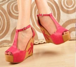 China New Fashion Wedge Sandals Koreanjapanclothing on sale