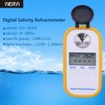 Digital Display Brix Scale Refractometer / Salimeter Measurement Tool For Aquarium Seawater
