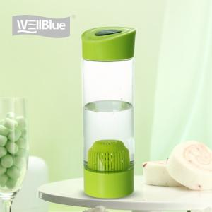 China Outdoor Alkaline Water Bottle Purifier Personal Water Filter With FDA Certification on sale