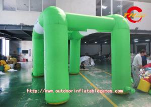 China Green Advertising Exhibition Inflatable Tent Large Inflatable Air Tent on sale