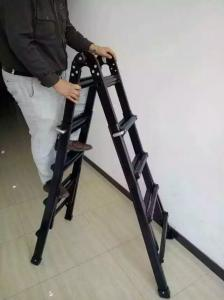 China Flexble Tactical Assault Ladders For Military / SWAT / Law Enforcement , 2.4m Extension Height supplier
