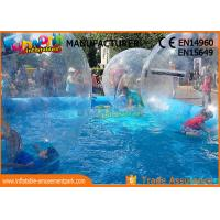 Large Inflatable Water Pools , Inflatable Swimming Pool With Ball