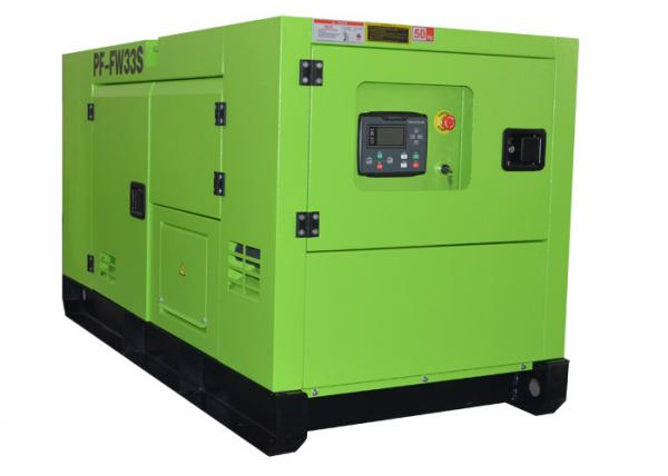 30kva Super Silent FAWDE Diesel Power Generator 3 Phase For Home of ...
