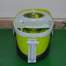 China The high spining Hand Push Spin Mop Life with 2 Microfiber Mop Heads on sale