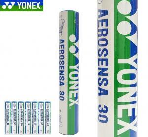 China Yonex badminton shuttlecock goose feather shuttlecocks aerosensa 30 AS-30 on sale