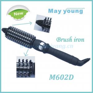 China Newest style professional hair brush curling iron on sale