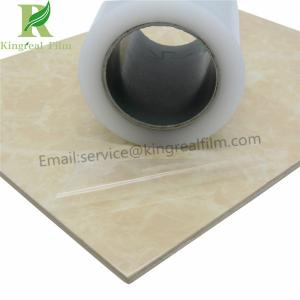 China Anti Scracth 0.02mm-0.15mm Thickness PE Protective Film for Artificial Marble on sale