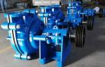 High Chrome Alloy Horizontal Slurry Pump for Heavy Duty Minerals Processing Applications